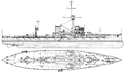 HMS Dreadnought 1905 [Battleship]