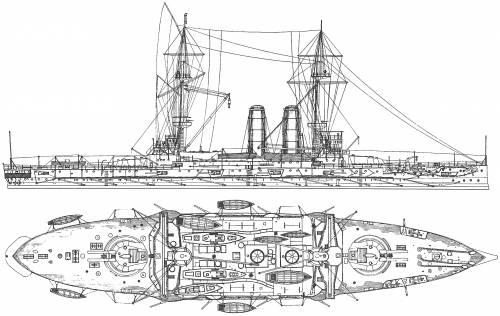 HMS Duncan (Battleship) (1903)