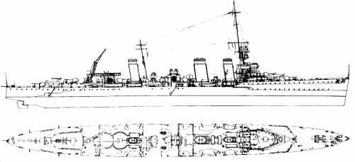HMS Emerald (Light cruiser) (1939)