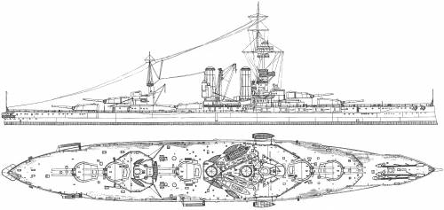 HMS Emperor of India (Battleship) (1918)