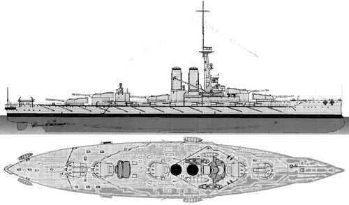 HMS Erin 1914 [Battleship]