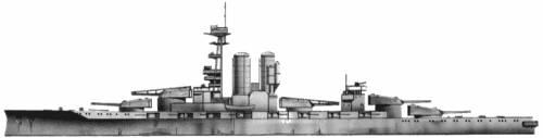 HMS Erin (Battleship) (1916)