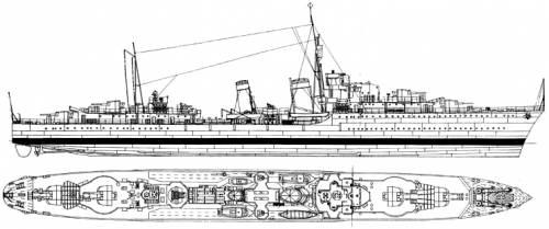 HMS Eskimo (Tribal Class Destroyer) (1939)