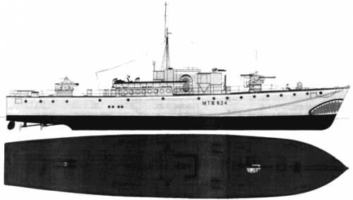 HMS Fairmile DMTB-624