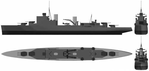 HMS Fiji (Light Cruiser) (1940)