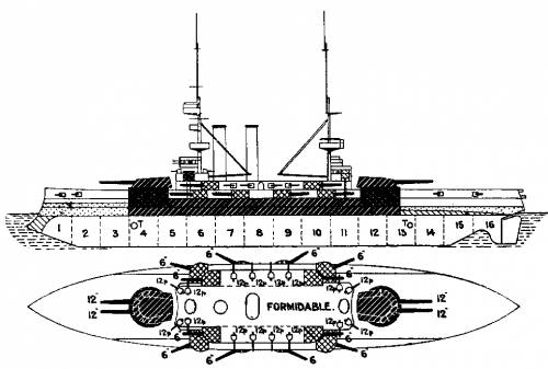 HMS Formidable (Battleship) (1902)