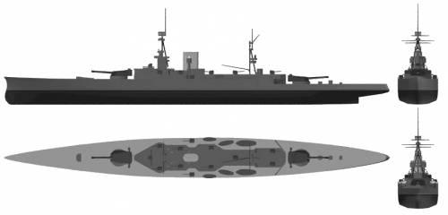 HMS Furious (Battlecruiser) (1916)