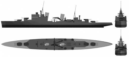HMS Gloucester (Light Cruiser) (1939)