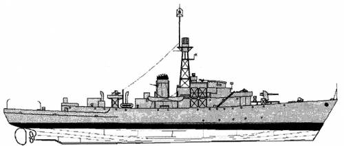 HMS Hadleigh Castle (Corvette) (1945)