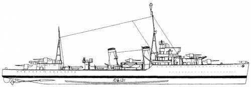 HMS Hardy (Destroyer) (1940)