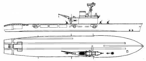 HMS Hermes (Aircraft Carrier) (1942)