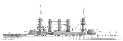 USS BB-13 Virginia (1906)