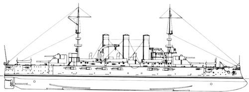 USS BB-15 Georgia (1907)