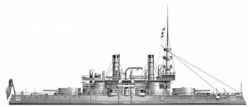 USS BB-1 Indiana