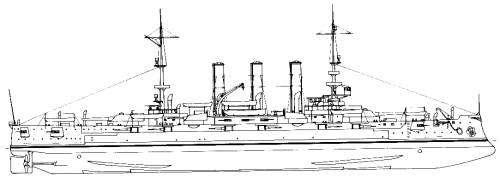 USS BB-22 Minnesota (1909)