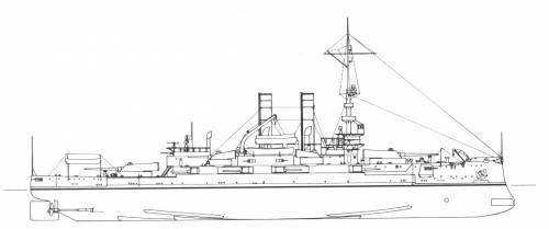 USS BB-23 Mississippi (1909)