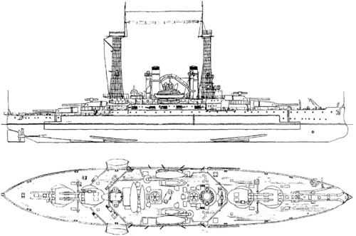 USS BB-26 South Carolina (1915)