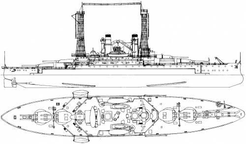 USS BB-28 Delaware (1911)