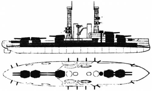 USS BB-30 Florida