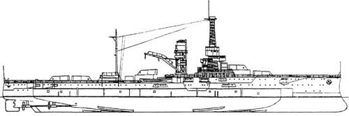 USS BB-31 Utah (1937)