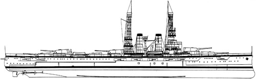 USS BB-32 Wyoming 1911 [Battleship]