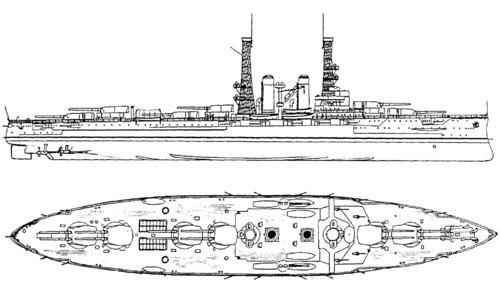 USS BB-32 Wyoming (1912)
