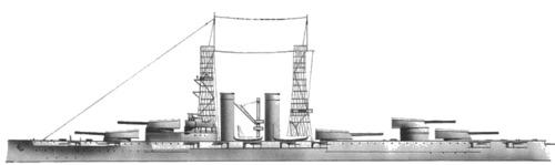 USS BB-34 New York (1915)