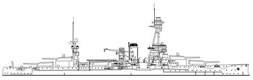 USS BB-35 Texas