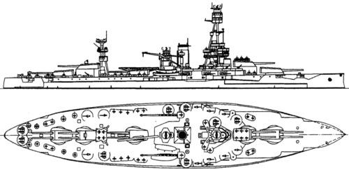 USS BB-35 Texas (1942)