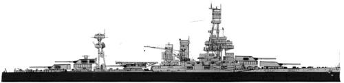 USS BB-35 Texas (1943)