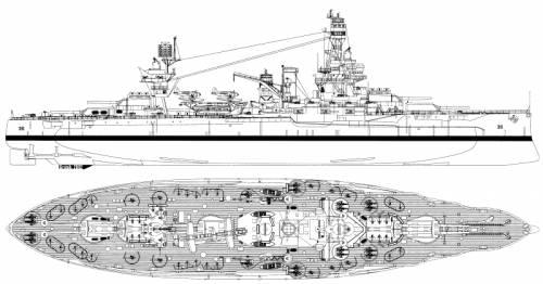USS BB-35 Texas (1944)