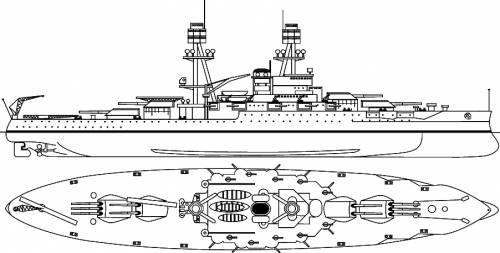 USS BB-37 Oklahoma