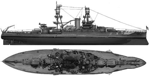 USS BB-37 Oklahoma (1941)