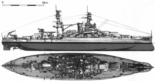 USS BB-39 Arizona