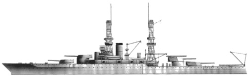 USS BB-40 New Mexico (1918)