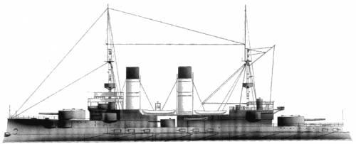 Russia - Borodino (Battleship) (1899)