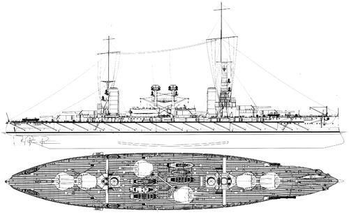 ARA Moreno 1915 (Battleship)