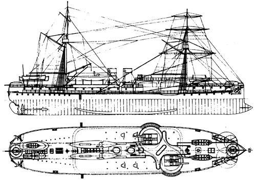 China - ROCN Ting Yuan [Battleship]