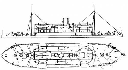 HMVS Cerberus (1870)