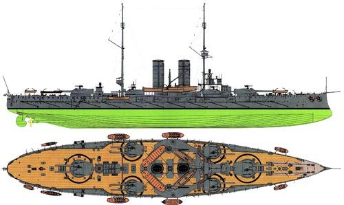 KuK Radetzky 1911 [Battleship]