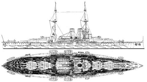 KuK Viribus Unitis 1912 [Battleship]