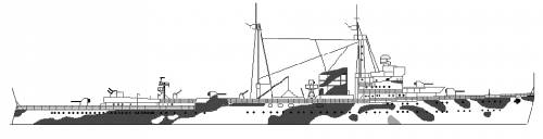 RNN Jacob van Heemskerck (Cruiser) Netherlands (1942)