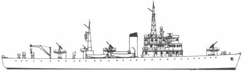 RNN Nanshin (Minesweeper) Netherlands (1938)