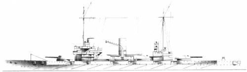 SMS Nassau (Battleship)