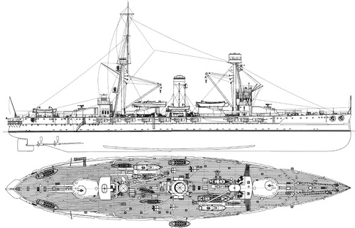 SNS Espana 1937 ex Alfonso XIII [Battleship]