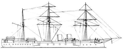 TCG Mesudiye 1875 {Battleship)