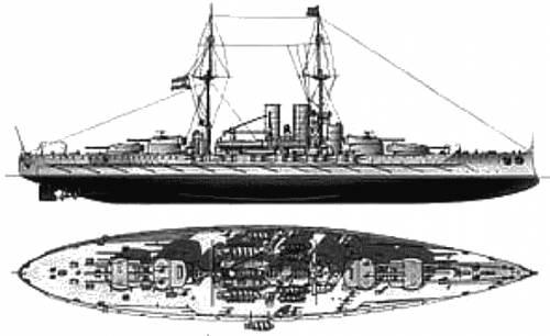 Viribus Unitis (Austro-Hungary) (1918)