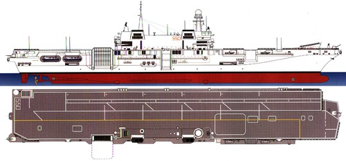 RN Cavour 550 [Light Carrier]