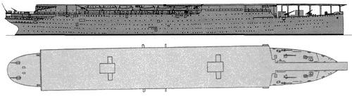 RN Sparviero 1927 (Aircraft Carrier)