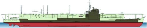 IJN Ibuki 1943 [Aircraft Carrier]